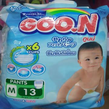 Goo.N Pants - M (13 Pcs)