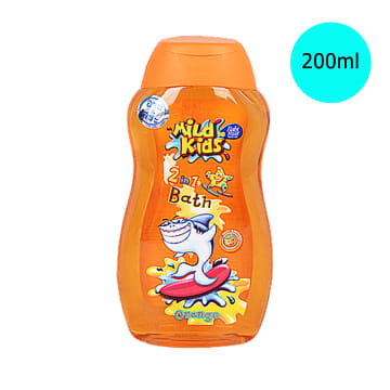 Babi Mild-Mild Kid 2 in 1 Orange Bath ( 200 ml )