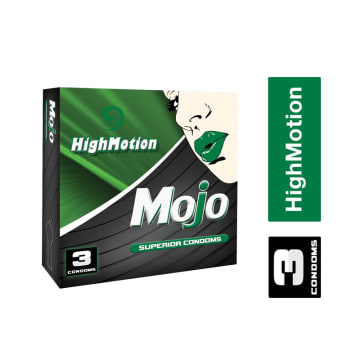 Mojo High Motion Superior Condom ကြန္ဒံုး