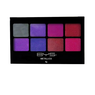 BYS 8 Metallic Eyeshadow