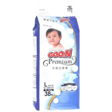 Goo.N Premium Tape - L (38 Pcs)