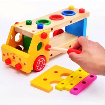 Multifunctional Knock the ball screw car (3Years+)