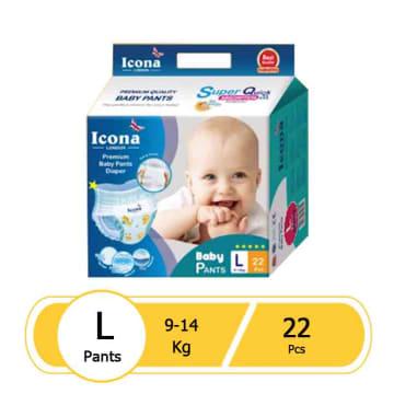 Icona Baby Pants L - 22 Pcs