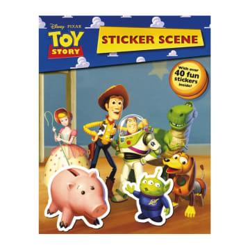 Disney Pixar Toy Story Sticker Scene (Paperback)