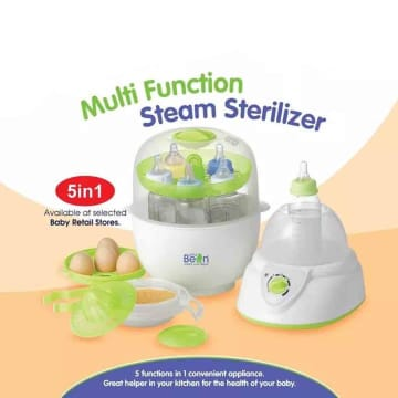 Little Bean Multi Function Stream Sterilizer