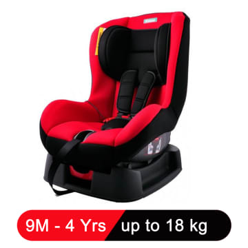Kidstar Car Seat (Red)