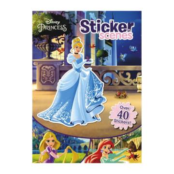 Disney Princess Sticker Scenes (Paperback)