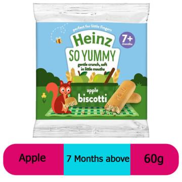 Heinz-Biscotti Apple (7 Months+) 60g