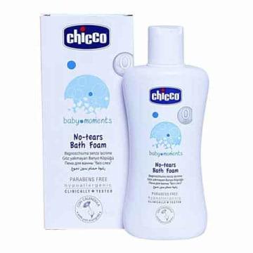 Chicco No Tear Bath Foam (200ml)