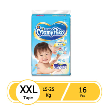 MamyPoko Tape- XXL16 Pcs