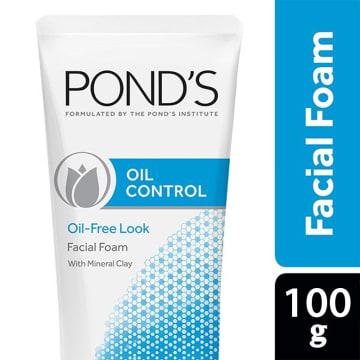 Pond Oil Control Facial Foam 100g