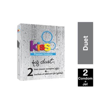 Kiss Duet Premium Condom ကြန္ဒံုး