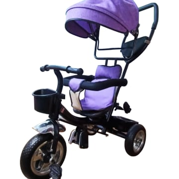Baby Tricycle 2 in 1 with cover