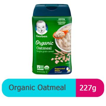Gerber Organic Oatmeal (227g)