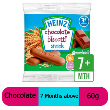 Heinz-Biscotti Chocolate (7 Months+) 60g