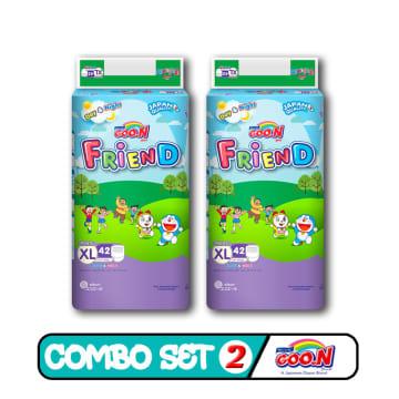 Goo.N Friend Pant - XL.42pcs (Combo Set 2)