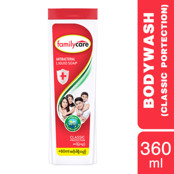 Familycare Bodywash Red Classic 360ml