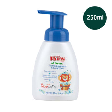 Nuby - Foaming Shampoo & Body Wash