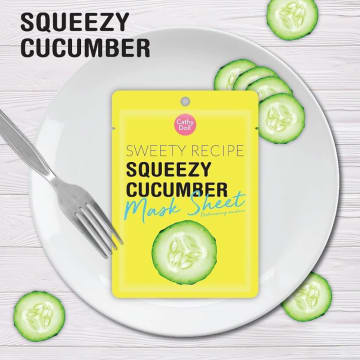 Cathy Doll - Sweet Receipe Mask Sheet #Cucumber