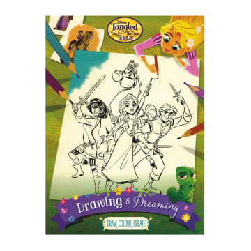 Disney Tangled The Series Drawing & Dreaming (Paperback)