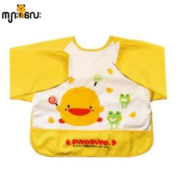 PiyoPiyo Long Sleeves Feeding Bib