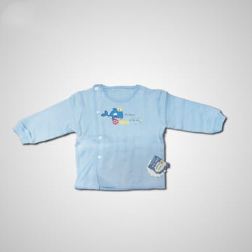 Baby Mommy BS Color Shird Interlok  Size-4 (6-9 M)