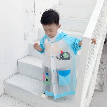 Baby Rain Coat - Blue