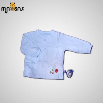 Baby Mommy Newborn Embroider Colour Shirt (0-1 Months)