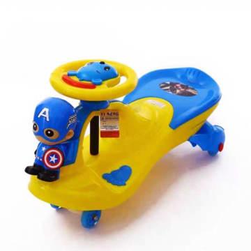 Baby Captain America Car