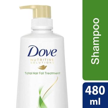 Dove Shampoo Total Hair Fall Treatment 480ml