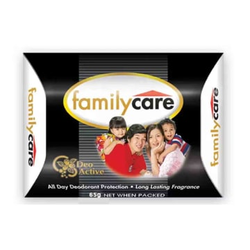 Family Care Skin Cls Bar Black 65g