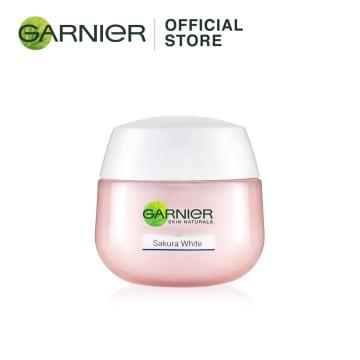 GARNIER Sakura White Pinkish Radiance Sleeping Night Essence Cream - 50ml