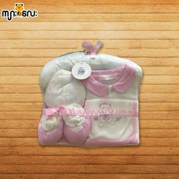 Baby Shalom-4pcs အက်ႌSet-(0-3)Months