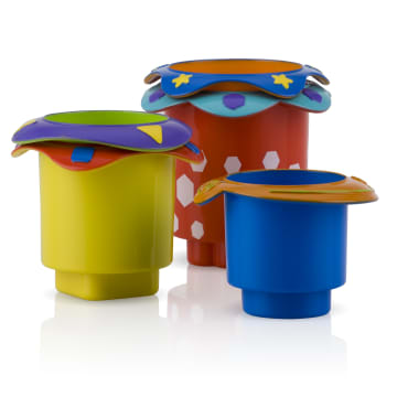 Nuby Splish Splash Stacking Cups