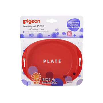 Pigeon Feeding Plate Stage 2 (12 M+)