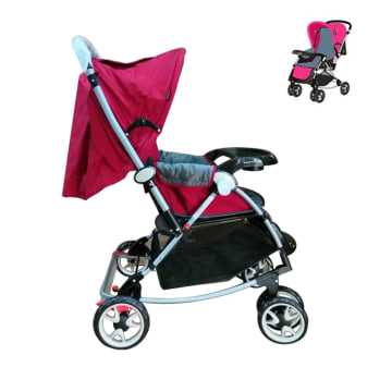 Urbini Baby Stroller (Red)A516H-IA5RN