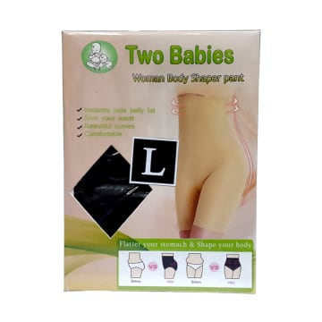 Two Babies Woman Body Shaper Pant - L Size