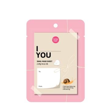 Cathy doll Feeling Mask Sheet # I love you-Snail