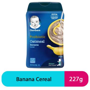 Gerber Probiotic Oatmeal Banana (227g)