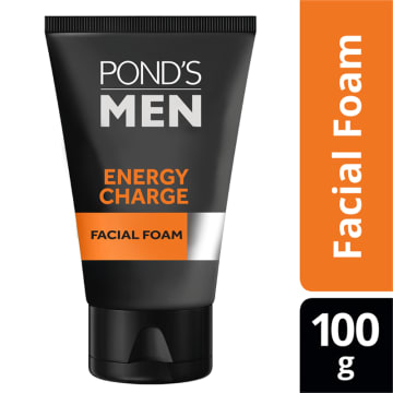 PONDS Men EnergyCharge Facial Foam  100g