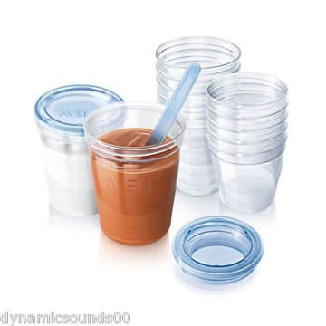 Philips Avent Baby Food Storage SET - Toddler 10x - SCF721/20