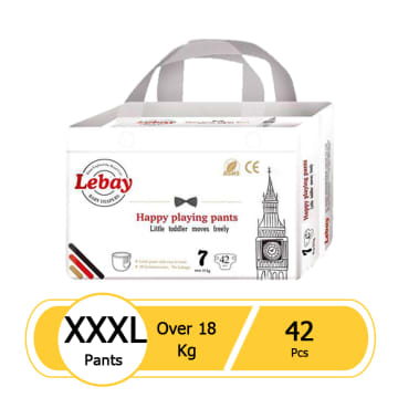 Lebay Happy Playing Pants - XXXL 42pcs