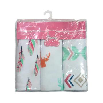Receiving Blanket 3pcs