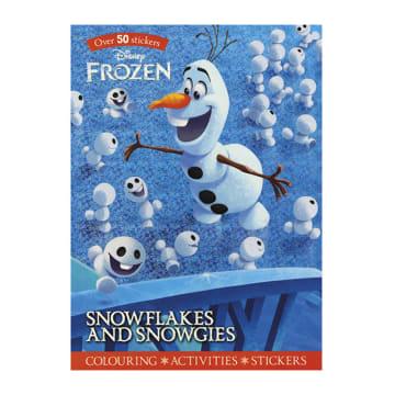 Disney Frozen Snowflakes and Snowgies (Paperback)