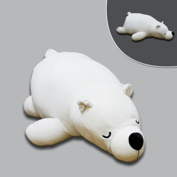 Laying Polar Bear 70cm