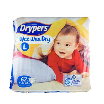 Drypers WWD L (62s) G9