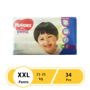 Huggies (Dry Pants Big Jumbo) XXL 34