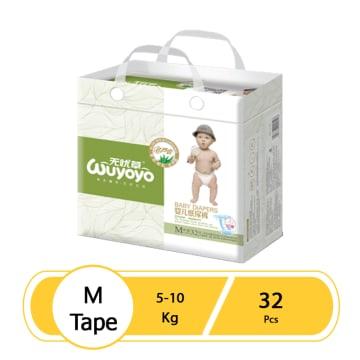 WUYOYO Baby Diaper - M (32 Pcs)