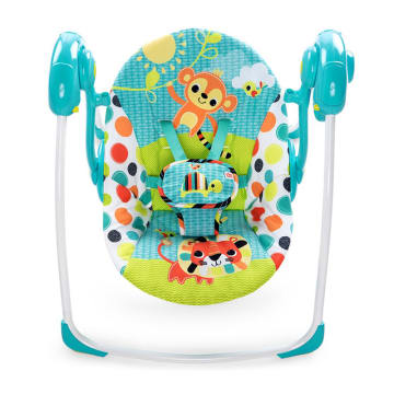Bright Starts Kelidoscope Safari Portable Swing