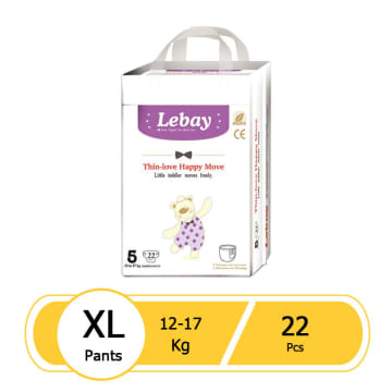 Lebay Thin-love Happy Move- XL 22pcs